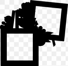 Blackandwhite Picture Frame - Picture Frame Frame PNG
