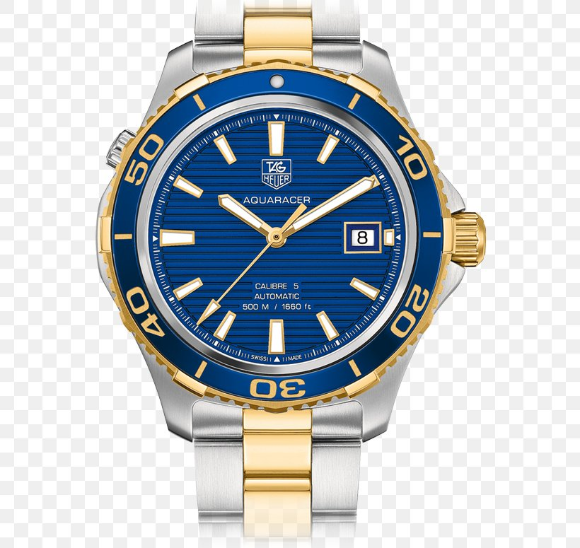 Watch TAG Heuer Aquaracer Calibre 5 Jewellery, PNG, 775x775px, Watch, Automatic Watch, Brand, Chronograph, Cobalt Blue Download Free