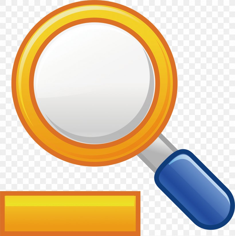 Magnifying Glass Euclidean Vector, PNG, 2376x2381px, Magnifying Glass, Cartoon, Computer Graphics, Designer, Drawing Download Free