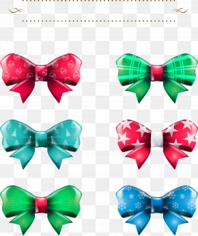 Christmas Exquisite Bow - Bow Tie Ribbon Shoelace Knot PNG