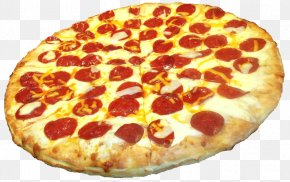 Pepperoni Pizza Transparent - Pizza Margherita Hamburger Hawaiian Pizza PNG