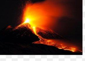 Volcano - Mount Etna Stromboli Catania Mount Nyiragongo Giarre PNG