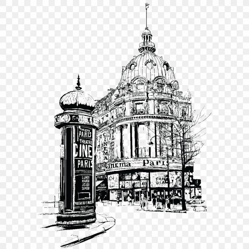 Paris Vector Graphics Illustration Image Photography, PNG, 1200x1200px, Paris, Arch, Architecture, Artwork, Baptistery Download Free