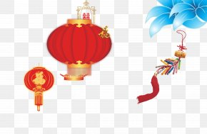 Chinese New Year Lantern Material - Lantern Chinese New Year Download PNG