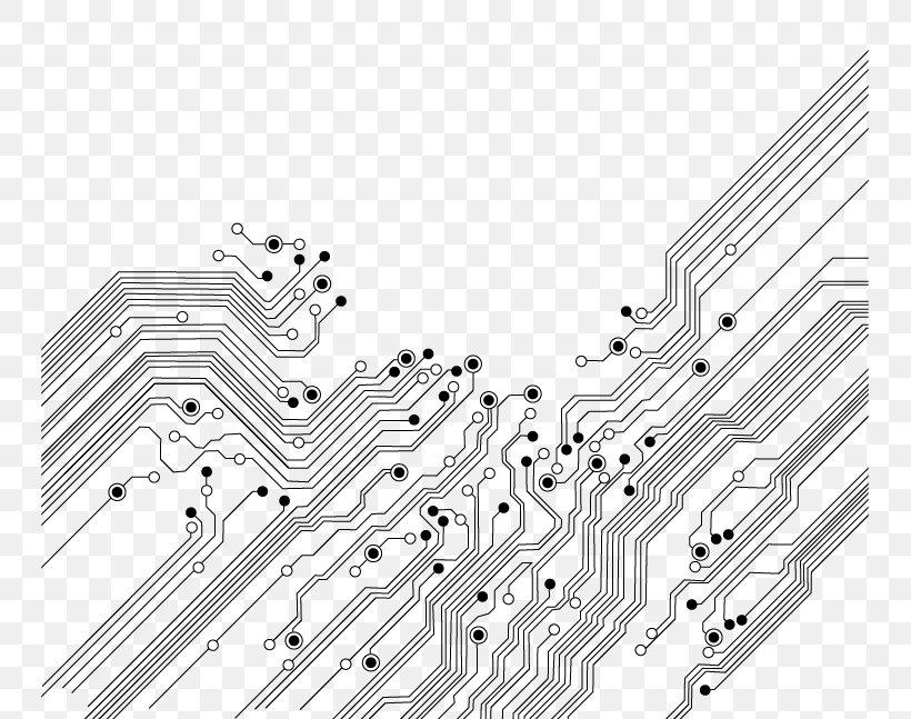 electronic circuit printed circuit board electronics icon