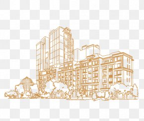 H5 Building Construction Material - Facade Architecture Pattern PNG