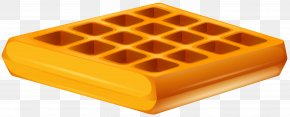 Waffle Transparent Clip Art Image - Ice Cream Belgian Waffle Clip Art PNG