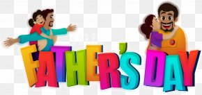Colorful Father's Day - Fathers Day PNG