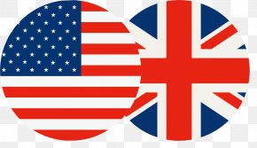 Britain And The US Flag PNG