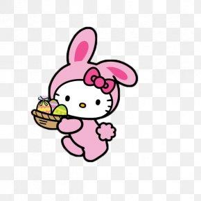 Hello - Easter Bunny Hello Kitty Desktop Wallpaper Mobile Phones PNG