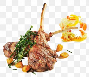 Barbecue Food Material - Sausage Barbecue Lamb And Mutton Gourmet Food PNG