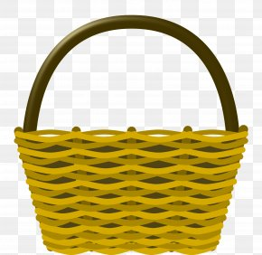 Empty Easter Basket Transparent Image - Picnic Basket Easter Basket Clip Art PNG