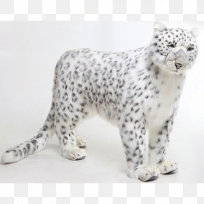 Leopard - Snow Leopard Tiger Stuffed Animals & Cuddly Toys PNG