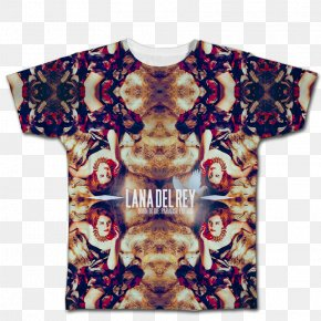 T-shirt - T-shirt Born To Die Lust For Life Lana Del Ray Ride PNG
