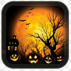 Halloween - Halloween Jack-o'-lantern Haunted Attraction Clip Art PNG