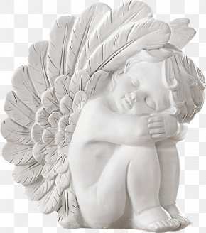 Child Angel Sculpture - Angel Sculpture Friday PNG
