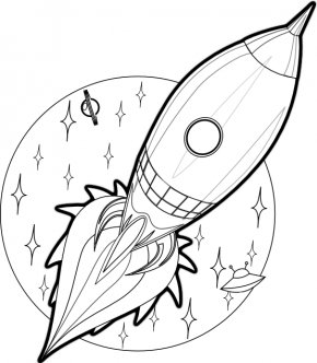 Cartoon Rockets - Drawing Rocket Spacecraft Cartoon Clip Art PNG
