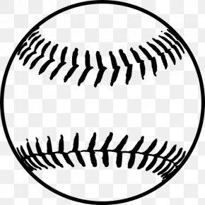 Softball - Softball Baseball Clip Art PNG