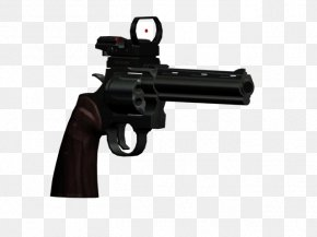 Weapon - Revolver Grand Theft Auto: San Andreas Firearm Weapon Trigger PNG