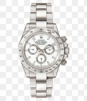 Rolex Silver Mechanical Male Watch - Rolex Daytona Rolex Sea Dweller Rolex Datejust Rolex GMT Master II PNG