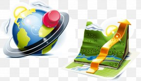 Globe Computer Office Supplies - GPS Navigation Device Mobile App Icon PNG