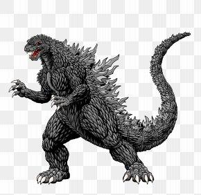 Godzilla - Godzilla Mothra Silhouette Drawing Clip Art PNG