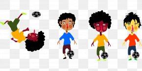 Football - Football Play Child Clip Art PNG