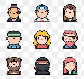 Emoji Avatar - Emoticon Human Behavior Laughter Smile Cheek PNG