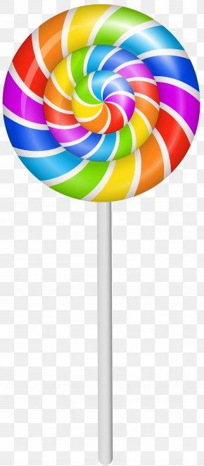 Colorful Lollipop Clip Art Image - Font PNG