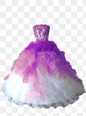 Gown - Wedding Dress Ball Gown Evening Gown PNG