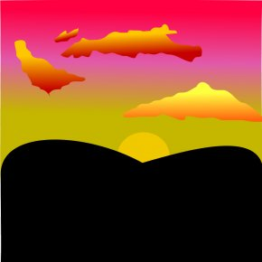 Sunset Cliparts - Sunset Free Content Clip Art PNG