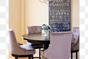 San Francisco Bridge - Table Dining Room Apartment Therapy Interior Design Services PNG