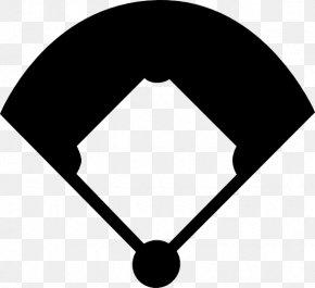 Baseball Silhouette Cliparts - Baseball Field Baseball Bat Clip Art PNG