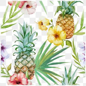 Tropical Plants - Cuisine Of Hawaii Pineapple Wallpaper PNG