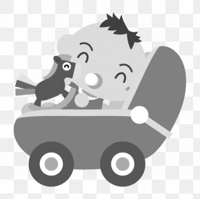 Baby Car - Infant Baby Transport Child Care Clip Art PNG