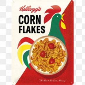 Breakfast - Corn Flakes Breakfast Cereal Frosted Flakes Kellogg's All-Bran Complete Wheat Flakes PNG