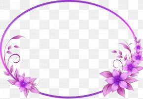 Floral Frame - Picture Frames PNG