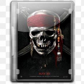 Pirates Of The Caribbean On Stranger Tides V2 - Technology Bone Skull PNG