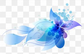 Colorful Abstract Flowers - WordPress PNG