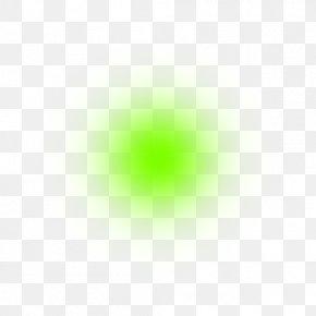 Green Light Transparent - Green Circle Optical Illusion Pattern PNG