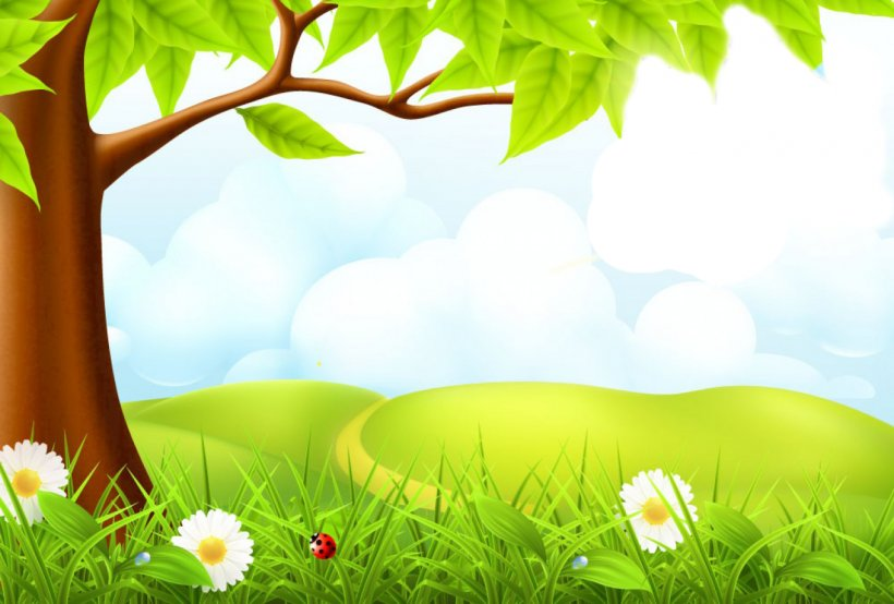 Microsoft Powerpoint Template Nature Presentation Ppt Png