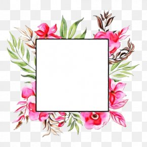 Rectangle Plant - Bouquet Of Flowers Drawing PNG