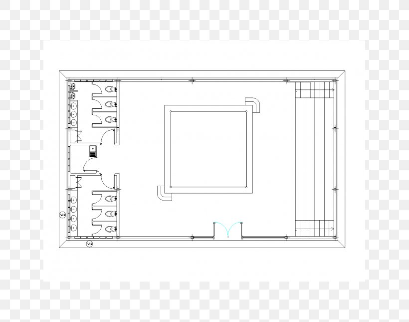 dwg Computer-aided Design Floor Plan