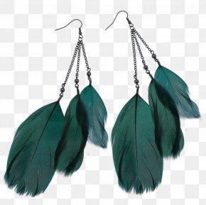 Feather Earrings Image - Earring Jewelers Inc Jewellery Gemstone PNG