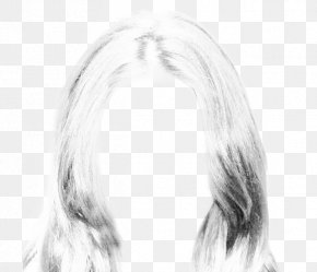 Hair Style - Long Hair Hairstyle Canities PNG