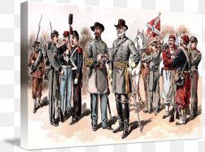 United States - American Civil War Confederate States Of America United States Military Uniform Uniforms Of The Confederate States Armed Forces PNG