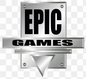 Epic Games Logo - Fortnite Logo Epic Games Brand Product PNG