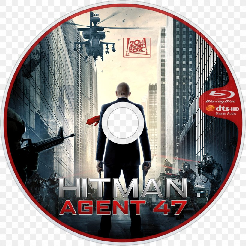 Agent 47 Film Streaming Media Dvd 720p Png 1000x1000px Agent 47