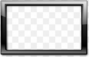 Black Border Frame Pic - Black And White Board Game Pattern PNG