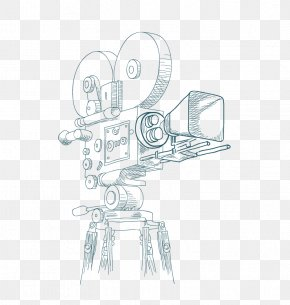 Vector Camera - Photographic Film Drawing Video Camera PNG